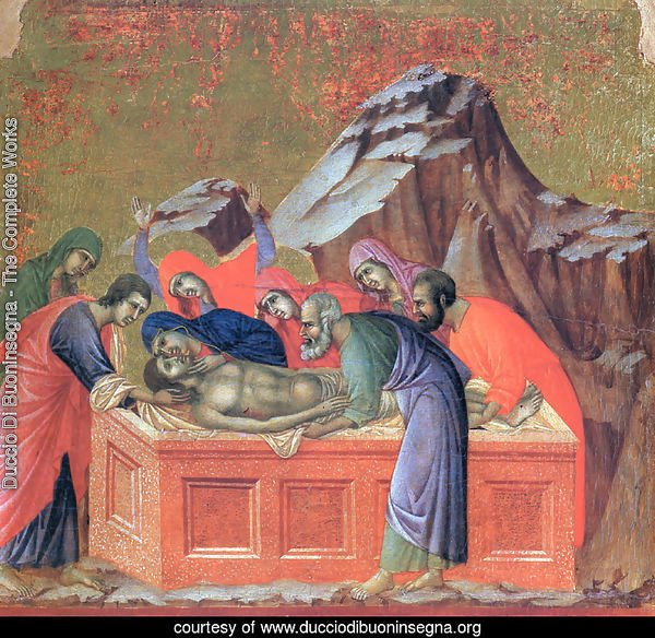 Burial of Christ 1308-11