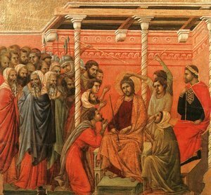 Duccio Di Buoninsegna - Crown of Thorns 1308-11