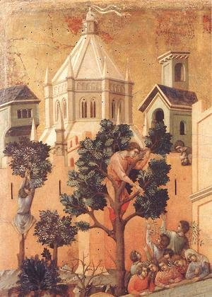Entry into Jerusalem (detail) 1308-11