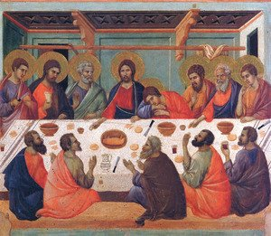 Duccio Di Buoninsegna - The Last Supper