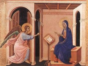 Duccio Di Buoninsegna - Announcement of Death to the Virgin 1308-11