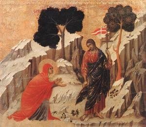 Appearence to Mary Magdalene (Noli me tangere) 1308-11