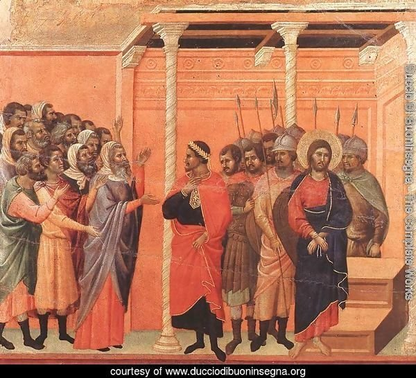 Christ Accused by the Pharisees 1308-11