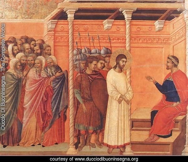 Christ Before Pilate Again 1308-11