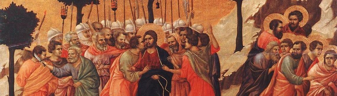Duccio Di Buoninsegna - Christ Taken Prisoner 1308-11