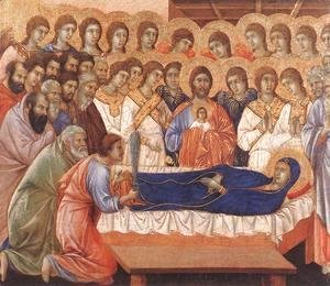Duccio Di Buoninsegna - Death of the Virgin 1308-11