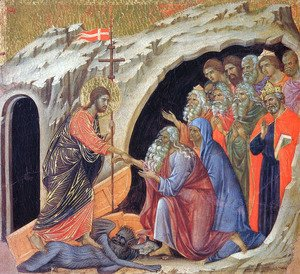 Duccio Di Buoninsegna - Descent to Hell 1308-11