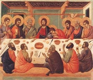 Duccio Di Buoninsegna - Last Supper 1308-11