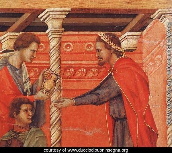 Pilate Washing his Hands (detail) 1308-11