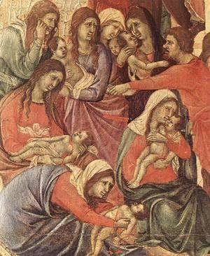 Slaughter of the Innocents (detail) 1308-11