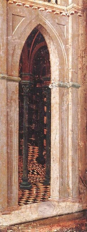 Temptation on the Temple (detail) 1308-11