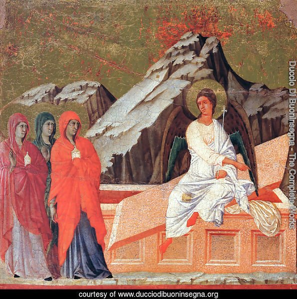 The Three Marys at the Tomb 1308-11