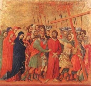 Duccio Di Buoninsegna - Way to Calvary 1308-11